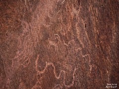 The Schematic Goat. Petroglyphs near Goodsprings Nevada (Travel to Eat) Tags: mohave desert goodsprings nevada petroglyphs rockart