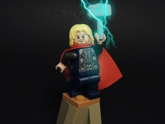 Thor (MrKjito) Tags: lego minifig super hero comic comics thor marvel cinematic universe god lightning hammer asgard asguardian ragnorak 2017
