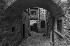 Montefioralle Greve in Chianti (maxis965) Tags: paese toscana finestra porta vicolo montefioralle arco sassi borgomediovale volta strada gradoni borgo