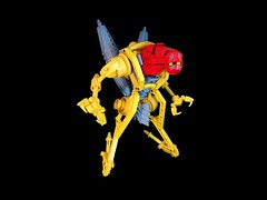 "Deshaan ""Hardy"" Taujer (Rеdverse) Tags: lego afol znap bionicle action figure alien powersuit hardsuit"