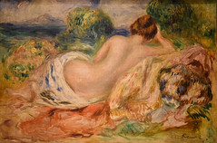 Pierre Auguste Renoir - Nude in a Landscape, 1887 at Princeton Art Museum Princeton NJ (mbell1975) Tags: princeton newjersey unitedstates us pierre auguste renoir nude landscape 1887 art museum nj museo musée musee muzeum museu musum müze finearts fine arts gallery gallerie beauxarts beaux galleria painting new jersey french impression impressionist impressionism