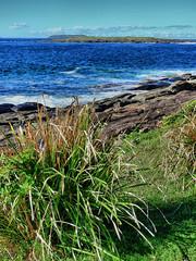 Belowla Island with Brush Island in the background VI (elphweb) Tags: fhdr falsehdr nsw australia seaside ocean water sea island islands
