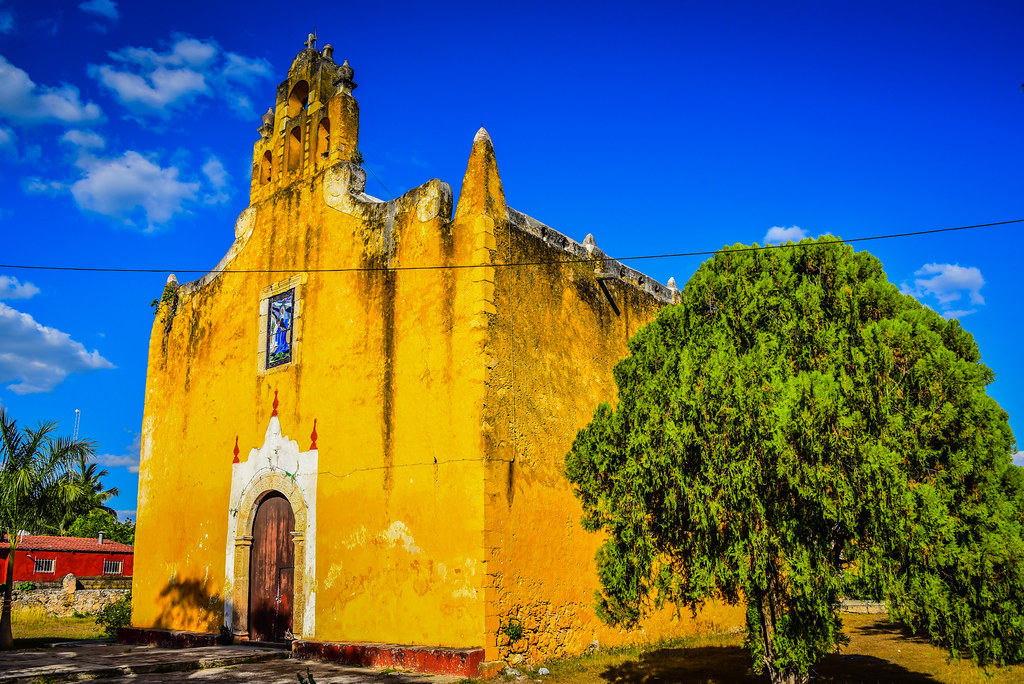 The world 39 s best photos of iglesia and yucatan flickr - Santa ana valladolid ...