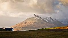 Sunset light (CNorth2) Tags: sunset light clouds mountain house outdoor isleofskye scotland uk nature explored