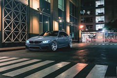 BMW M3 for Rohana Wheels (Richard.Le) Tags: bmw f80 m3 nardo grey usa repost ultimate driving machine rohana wheels forged richard le automotive photography commercial light painting sony a7rii sacramento downtown long exposure popular german engineering ice 2 flickr explore sedan saloon turbo