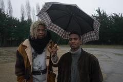 Gabriel & Mackenzy (Sylvain Alcayna) Tags: umbrella portrait video clip playart sonya7 zeiss35mm color hiphop dance mackenzy gabriel sherkan