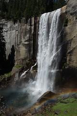 Vernal Fall (Sean Munson) Tags: yosemitenationalpark nationalpark unescoworldheritagesite worldheritagesite california backpacking yosemite waterfall water mercedriver vernalfall