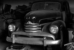 Opel (Bettina.Gerstb.) Tags: roller puch opel oldtimer cars schrottplatz rost autos rust scrapyard