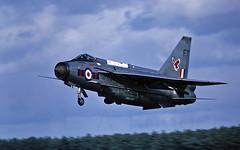 23 Squadron Lightning   F (TF102A) Tags: aviation aircraft englishelectric lightning raf rafleuchars kodachrome 23squadron