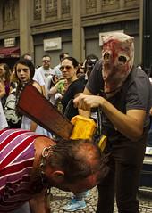 ZOMBIE WALK (Kamilla Skori) Tags: zumbi zombie zombiewalk monster curitiba carnaval