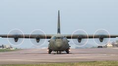 ZH875  '875'  Hercules C4  RAF (Churchward1956) Tags: airfield aviation c130 c130j30 england hercules herculesc4 oxfordshire raf rafbrizenorton zh875