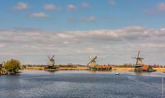 Windmills @ Zaanse Schans (NL) (Henk Verheyen) Tags: lente nl nederland netherlands spring zaanseschans zaanstad buiten landscape landschap molen outdoor windmill windmolen zaandijk noordholland