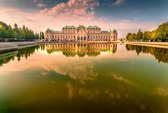 Schloss Belvedere (Michele Naro) Tags: wien schlossbelvedere vienna austria oesterreich visitvienna niederoesterreich loweraustria bassaaustria belvedere nikond80 nikon samyang14mmf28