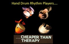 promo hdrpd cheaper than... therapy add (Hand Drum Rhythm Players) Tags: hand drum rhythm players dancers facebook therapy conga doumbek bongo djembe