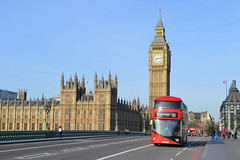 Bridge Defies (dhcomet) Tags: westminster london parliament uk terror terrorist attack defiance politics defend bigben tower red routemaster bus route 12