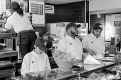 Pret A Manger (FourteenSixty) Tags: newyork pretamanger pret unionsquare manhattan monochrome blackwhitephotos