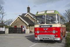 198 CUS  1961  AEC Reliance/Duple   MacBraynes 63  Kirkby Stephen Station (wheelsnwings2007/Mike) Tags: 198 cus 1961 aec relianceduple macbraynes 63 kirkby stephen station 19th brough classic commercial vehicle rally cumbria