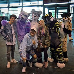 Prince of Passion Chany Dakota Arco Fluffypaw #comiccon #comiccon2017 #comicconfrankfurt #fursuiting (Keenora Fluffball) Tags: keenora fursuit furry kee