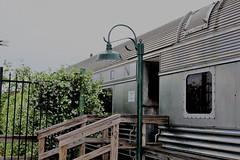 IMG_6654 (joyannmadd) Tags: galvestonrailroadmuseum texas trains railroad tracks traindpot museum historic cars engines memorobilia old sculptures silver diningcar menu plates wheels