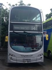 Arriva (London) | HV64 | WLT664 (gage 75) Tags: speciallivery platinum silverlady wlt664 hv64 arriva