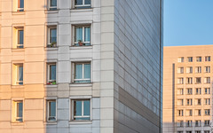 DSC_1315 (deborahb0cch1) Tags: facade building shadow pattern window square vertical patches collage architecture wall
