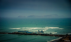 The idea of an island (.KiLTRo.) Tags: miraflores limaregion peru kiltro mar sea ocean coast pier dock shore island water wave