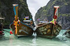 phi phi ⛵️ (Greg M Rohan) Tags: boats boat thailand phiphiisland phiphi maya sea ocean water photography 2017 d7200