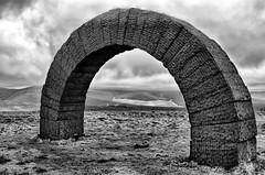 IMG_0650bw (griff griff) Tags: stridingarches dumfriesgalloway andygoldsworthy cairnhead sculpture southernuplands moniaive byre