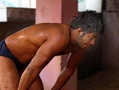 "Kushti Wrestling (grab a shot) Tags: ""eos 7d mark ii"" india newdelhi guruhanumanakhara akhara gym kushti wrestling wrestle wrestler 2017 sport outdoor sand male men"
