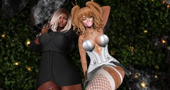 .silly. (Ai Venus Kouyama) Tags: firestorm secondlife sl avatar virtual worlds living elf bestie photography 3d