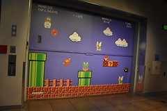 Super Mario Bros. Mural (Adventurer Dustin Holmes) Tags: 2017 mopop museumofpopculture seattlewa seattlewashington mural supermario supermariobros supermariobrothers videogame nintendo