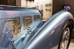 Bugatti Atlantic Fender (Thad Zajdowicz) Tags: car automobile transportation fender detail vintage classic bugatti atlantic 1938 color blue colour zajdowicz losangeles california petersenautomotivemuseum availablelight indoor inside museum canon eos 5dmarkiii 5d3 dslr digital lightroom ef50mmf12lusm 50mm primelens