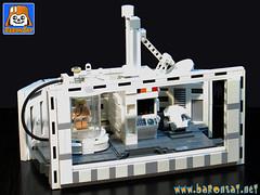 BACTA TANK + DECO (baronsat) Tags: lego star wars esb hoth rebel base bacta tank chamber luke rejuvenation instructions kenner vintage 80s new toys