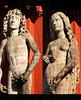 Adam und Eva - Adam and Eve (cammino5) Tags: marienkapelle würzburg adam eva eve riemenschneider märz 2017 figur figure