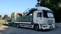 D - Wilhelm > Remmi Demmi < MAN F90 (BonsaiTruck) Tags: kirmes rummel schausteller kirmesfahrzeug lkw truck lorry lorries camiion fete foraine fundride remmi demmi actioncenter laufgeschäft wilhelm man f90