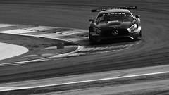 Akka ASP Mercedes-AMG GT3 (Y7Photograφ) Tags: akka asp michael meadows raffaele marciello matthias lauda mercedes amg gt3 blancpain endurance sprint gt nikon d3200 castellet httt paul ricard noiretblanc noir blanc black white