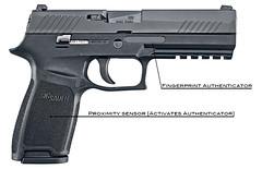 Sig Sauer Smart Pistol Concept (Mike20two) Tags: smartgun igun smart firearm pistol fingerprint sensor mechanism safety user authenticated