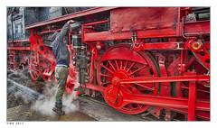 """Filling oil2.  Best view press """"L"""" (wk4ever) Tags: train trains railway vsm beekbergen railroad trein"""