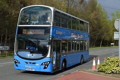 EU62 BSY (markkirk85) Tags: thurrock bus buses ensign volvo b5lh wright eclipse gemini ensignbus new purfleet 112012 501 eu62 bsy eu62bsy
