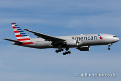 N761AJ (Airlinerphotos.de) Tags: americanairlines b777200 lhr