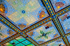 Beautiful Ceiling Tile (ViewFromTheStreet) Tags: allrightsreserved angeltunnel bethesda bethesdaterrace bigapple blick blickcalle blickcallevfts calle centralpark copyright2017 manhattan nyc newyork newyorkcity park photography stphotographia streetphotography terrace viewfromthestreet amazing ceiling classic fountain mosaic street vftsviewfromthestreet ©blickcallevfts ©copyright2017blickcalle