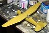 "1:72 AB Förenade Flygverkstäder (AFF) S 13A; aircraft ""12"" of the F 4 Kungliga Jämtlands Flygflottilj's 1st Division; Frösön Air Base, Östersund, Sweden; December 1940 (Whif/modified Matchbox kit) - WiP (dizzyfugu) Tags: 172 whif whatif model kit conversion kitbashing westland lysander p7 aff ab förenade flygverkstäder s13 f4 kungliga jämtland flygflottilj modellbau dizzyfugu sweden fictional aircraft plane frösön air base östersund 1940 recce reconnaissance observation army support weird winter whitewash camouflage white green zinc chromate"