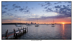 Matilda Bay Sunrise (JChipchase) Tags: matildabay perth sunrise river nikon d750 westernaustralia jetty