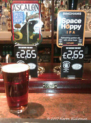 April 23rd, 2017 Ascalon beer to celebrate St George's Day! (karenblakeman) Tags: ascalon beer ale everards spacehoppy binghams baroncadogan caversham uk april 2017 2017pad