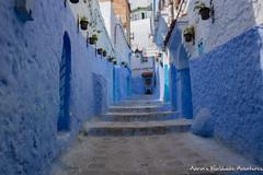 Chefchaouen Medina (adventurousness) Tags: bluecity chefchaouenthebluepearl thebluecity blue chaouen chefchaouen morocco stairs travel medina