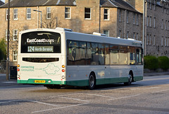 10197 (Callum's Buses & Stuff) Tags: lothianbuses edinburgh edinburghbus bus buses b7rle country busesedinburgh green cream a199 tranent haddington dumbar 107 124 x24 eastcoastbuses ecb