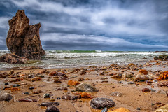 Majestic Rockscape (Michael F. Nyiri) Tags: malibu southerncalifornia ocean california elmatadorstatebeach