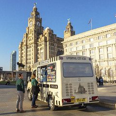 Good while it lasted (saile69) Tags: liverpoolecho icecream lolly liverbuilding sunny spring weather
