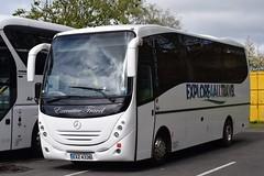 EXZ4338  Explore 4 All Travel, Newcastle Upon Tyne (highlandreiver) Tags: carlisle exz4338 exz 4338 explore 4 all travel newcastle upon tyne mercedes benz bus coach coaches cumbria
