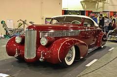 2017 Grand National Roadster Show (USautos98) Tags: 1938 lasalle convertible traditionalhotrod streetrod kustom leadsled grandnationalroadstershow gnrs pomona california